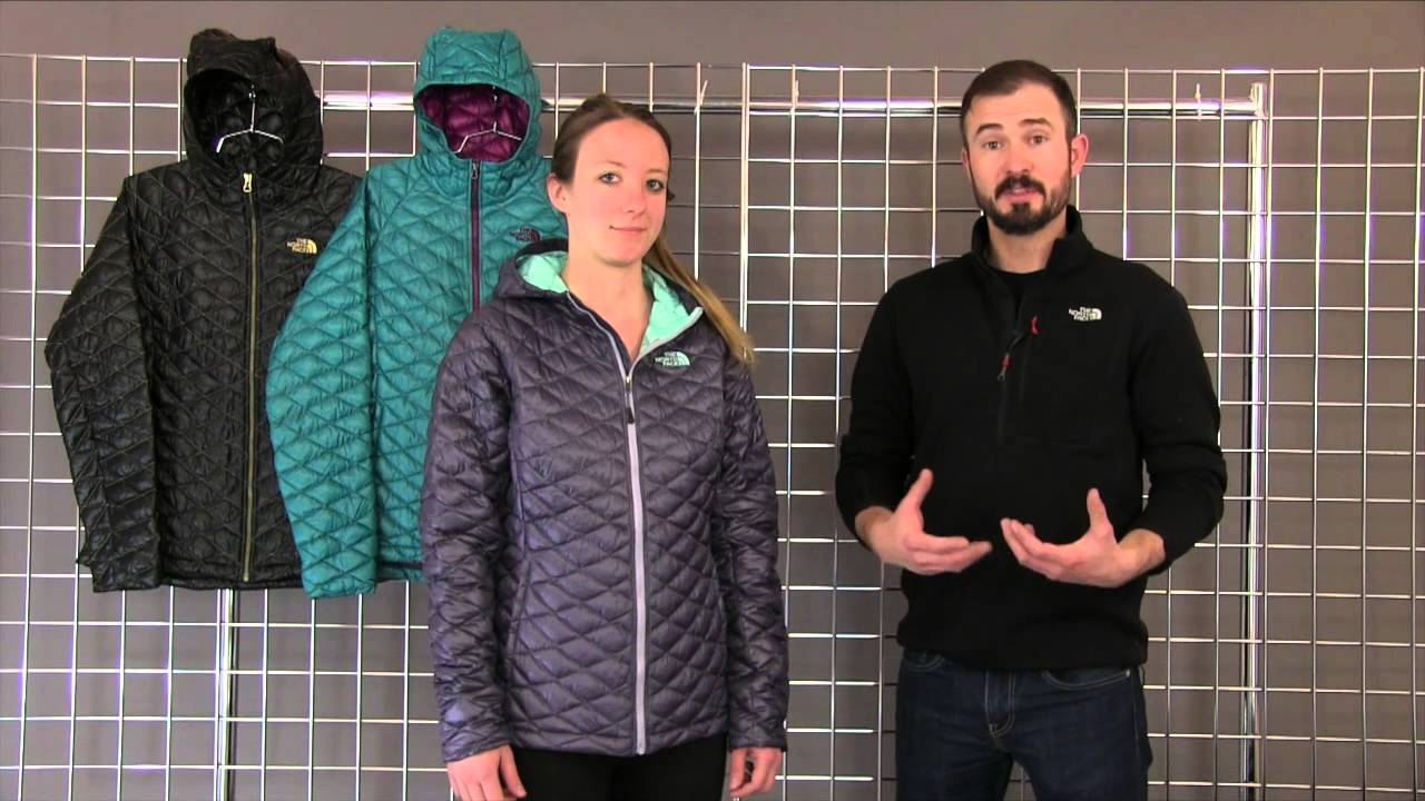 50c3223b5e The North Face Women s Thermoball Hoodie 2014-2015 - YouTube