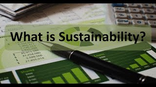 Managerial Accounting: What is Sustainability