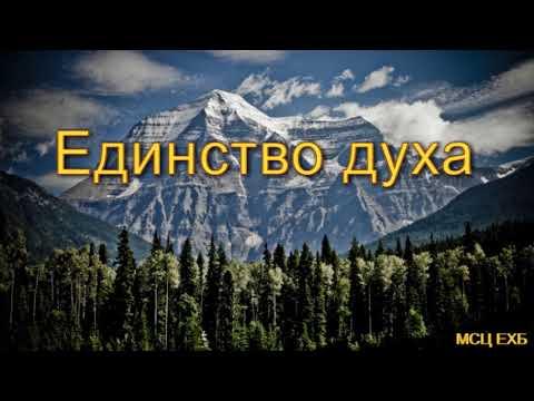 """Единство духа"". А. Русавук. МСЦ ЕХБ."