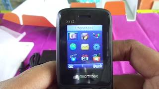micromax x412 unboxing
