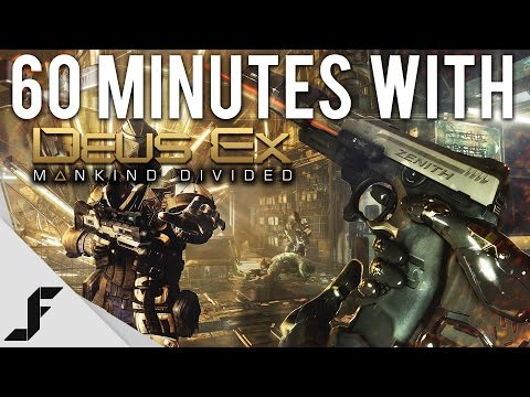 60 Minutes with Deus Ex: Mankind Divided
