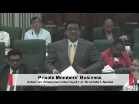 Debate on Durban Park Motion