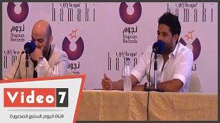 بالفيديو.. تعليقا على أسامة القوصى .. محمد حماقي: