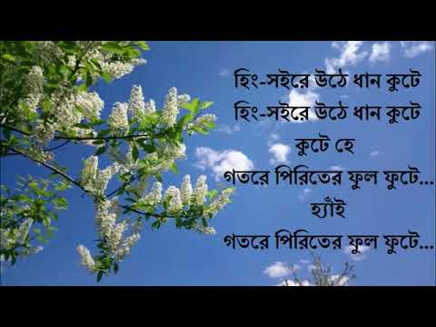 Pindare Palasher Bon Lyric   Bangla Song   Lyric Music