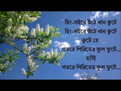 Pindare Palasher bon lyric   Bangla Song   Lyric Music