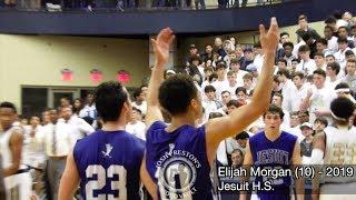 Jesuit at Holy Cross - Elijah Morgan goes for 31 in battle between top Catholic League teams