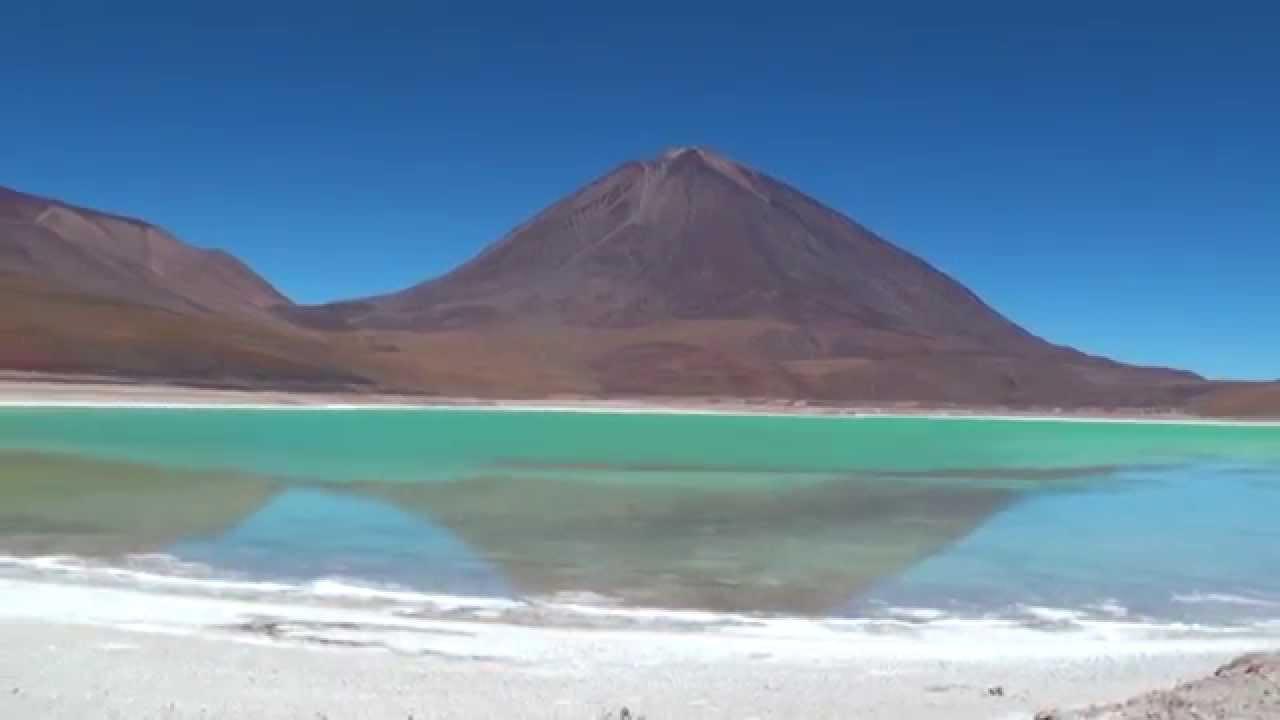 Chile Bolivia Laguna Blanca and Verde - YouTube  Chile Bolivia L...