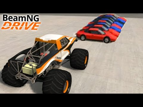 Get CARROS vs MONSTER TRUCK - BeamNG Drive Screenshots
