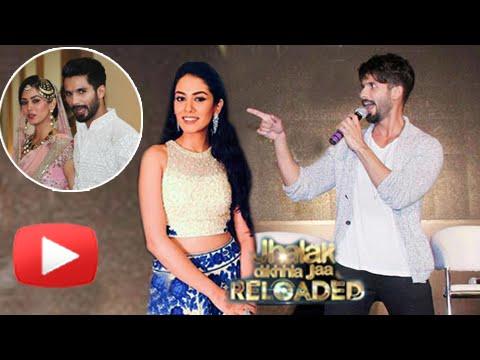 Aww!  Shahid Kapoor Sings For Mira Rajput In Jhalak Dikhhla Jaa Reloaded