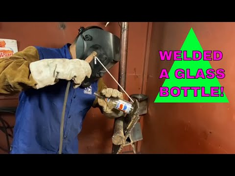 Can I Weld Glass? | Welding Glass Bottle to Metal