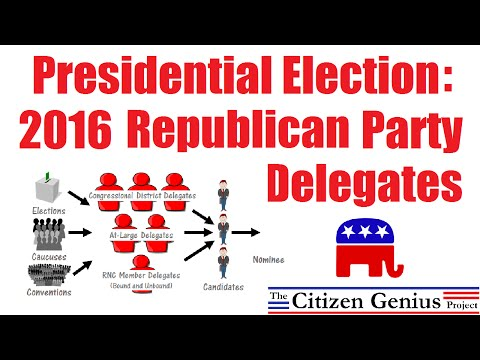 2016 Republican Party Delegates