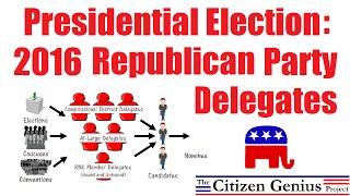 2016 Republican Party Delegates