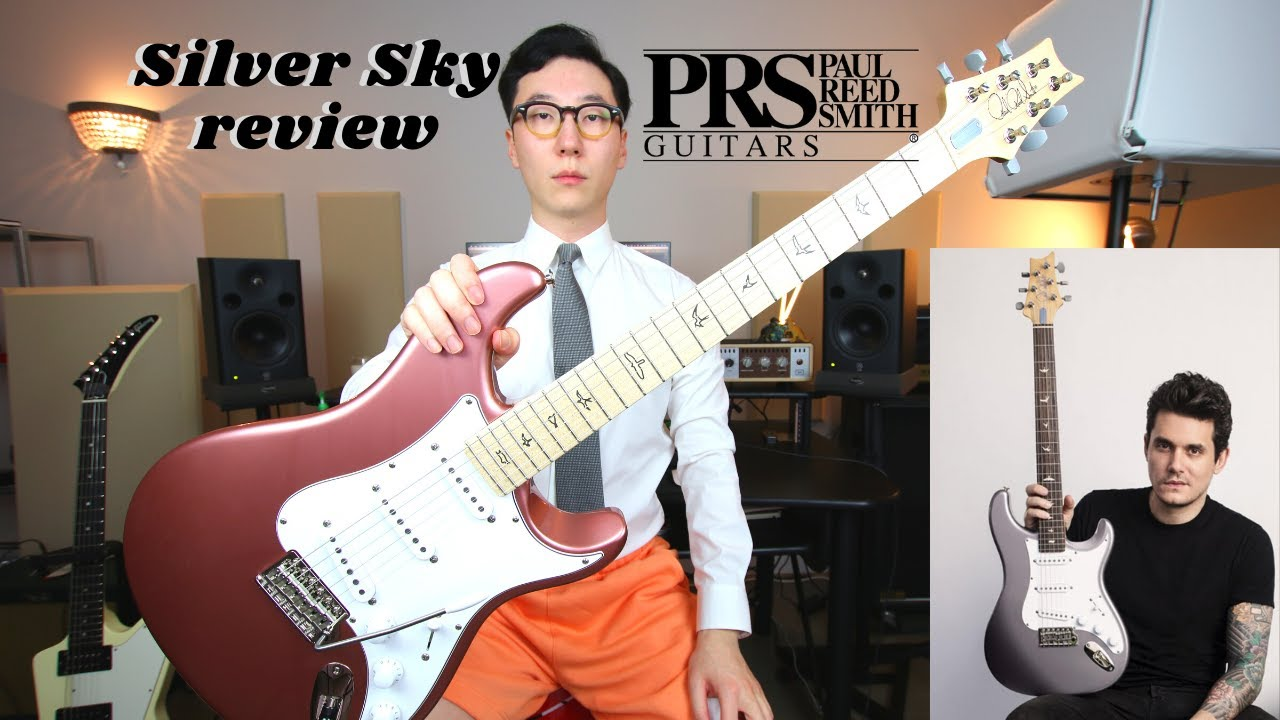 PRS Silver Sky Maple Neck guitar review.