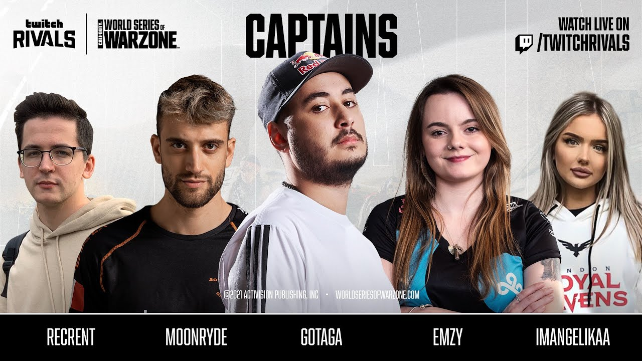 Captains Reveal — World Series of Warzone | $300k Trios EU | Call of Duty® Warzone™