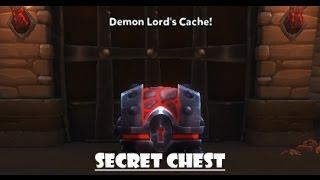 dungeon defenders 2 molten citadel secret chest   demon lord s cache