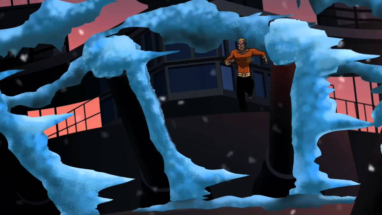 Mr Freeze from Young Justice Mr Freeze t Young