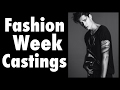 Castings for Fashion Week with Male Model Mario Adrion