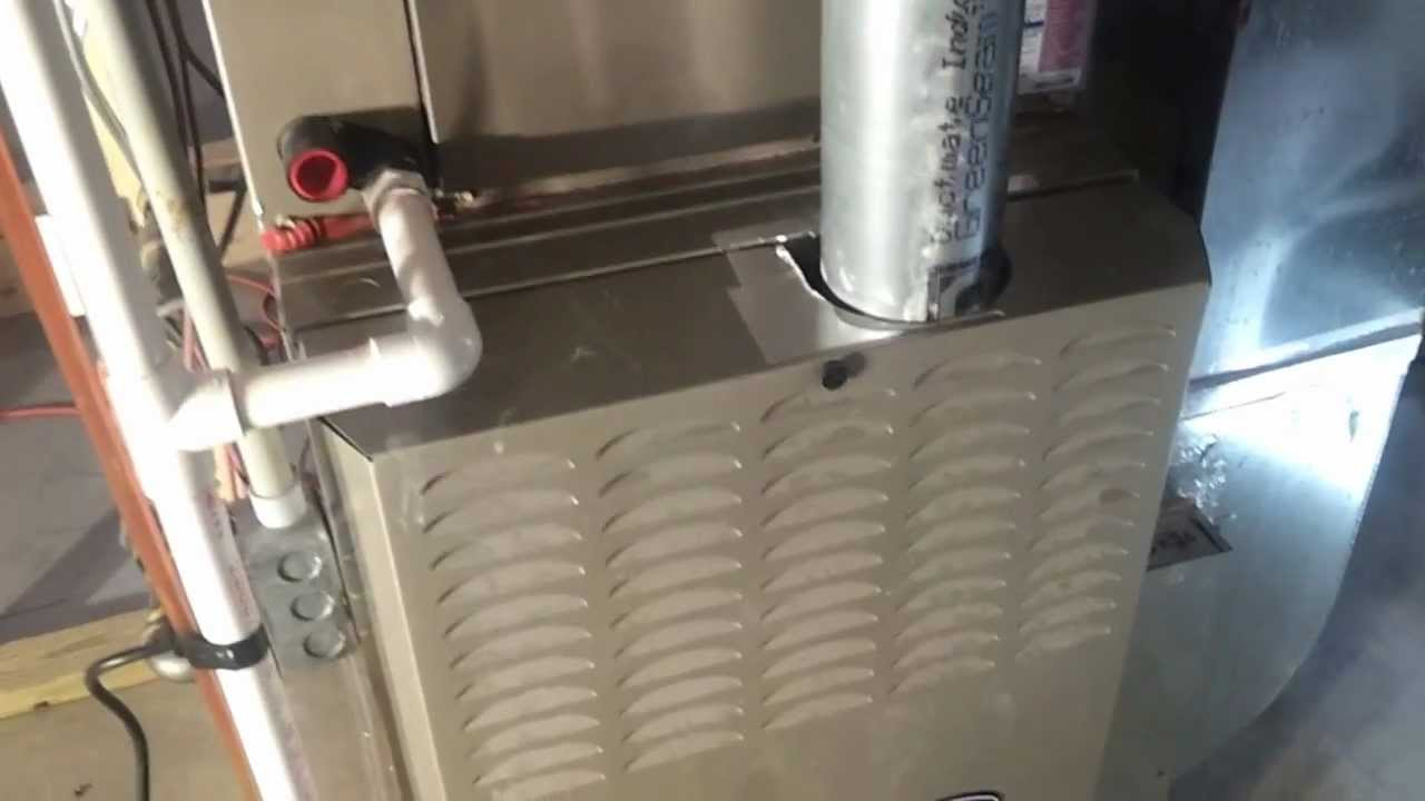 aprilaire 700 humidifier installation part 2 [ 1280 x 720 Pixel ]