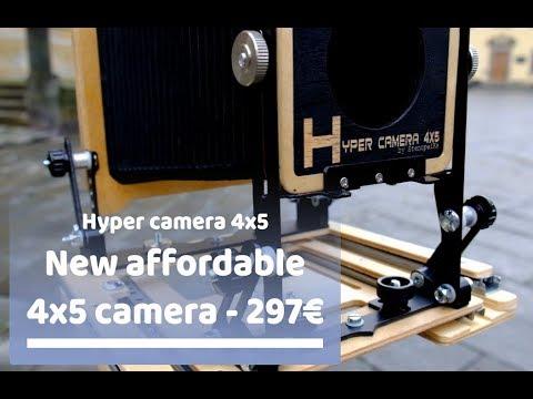 Shen Hao HZX-IIa 4x5 Camera Review - YouTube