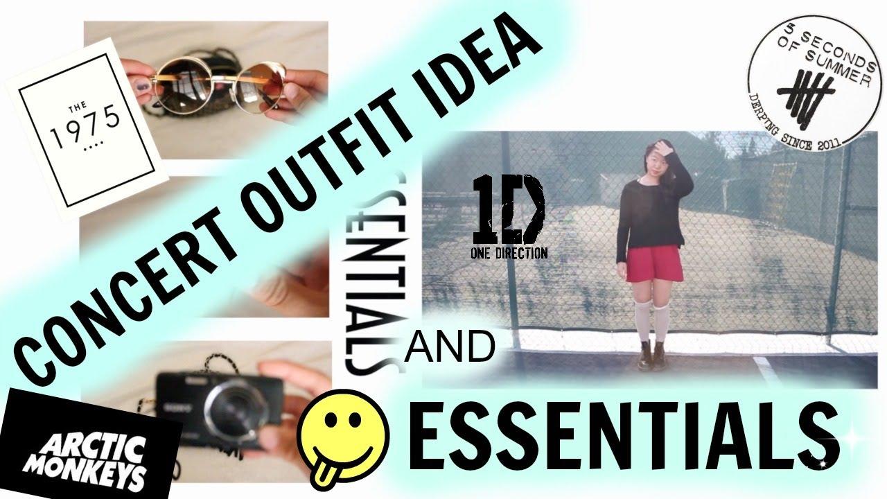 11b6a0cce8e Concert Outfit Idea + ESSENTIALS! - YouTube