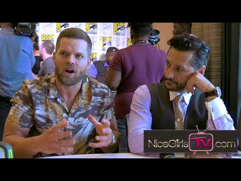 From Alex backstory & Amos' emotional damage, Cas Anvar & Wes Chatham Talk The Expanse Season three