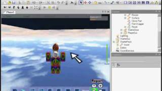 roblox how to make a model and start of with gear