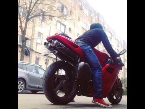 ducati 996 sound !termignoni and dry clutch - youtube