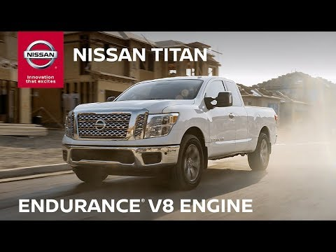 2019 Nissan TITAN Endurance V8 Engine