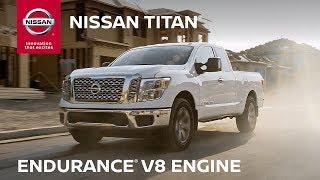 2019 Nissan TITAN Endurance V8 Engine Efficiency