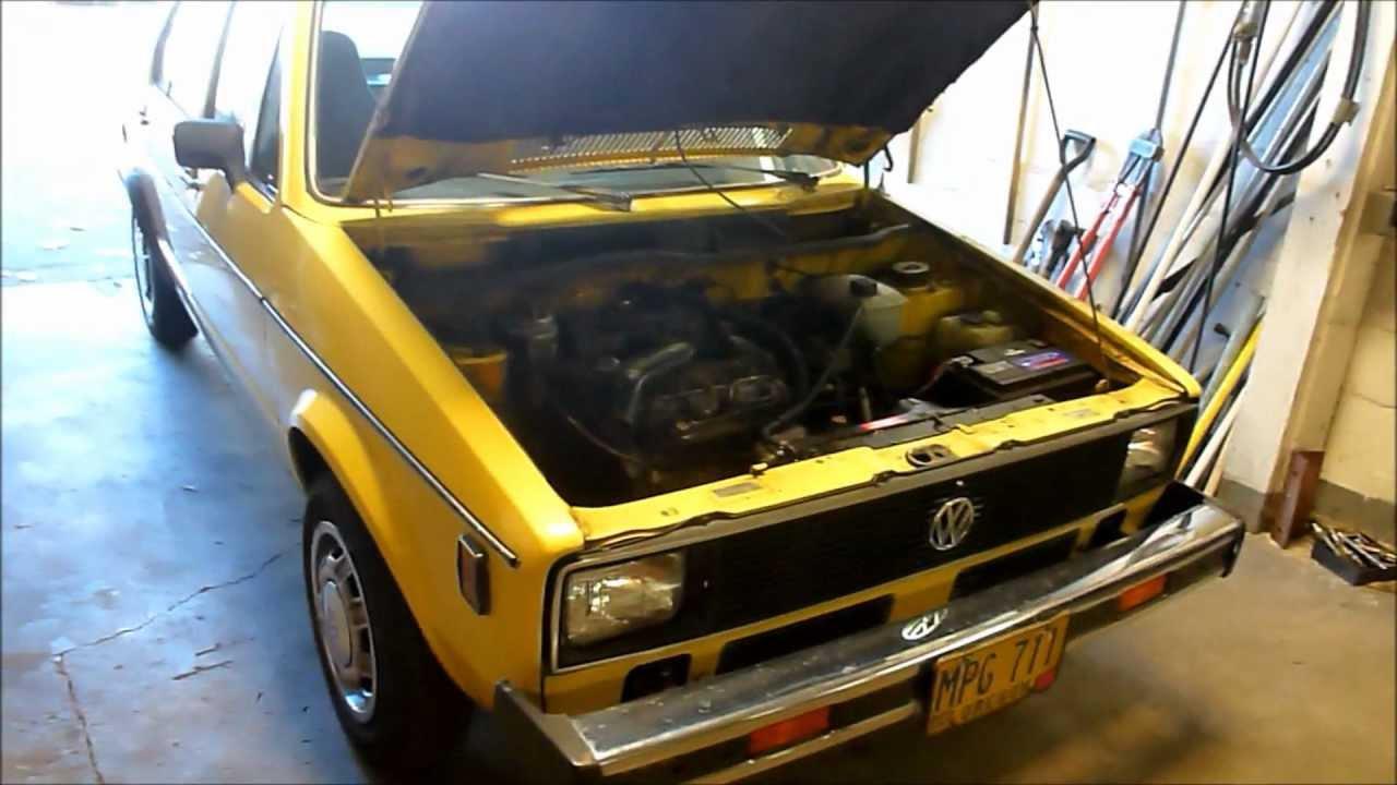 1979 Rabbit 1 5 Liter Diesel 4 Speed Youtube