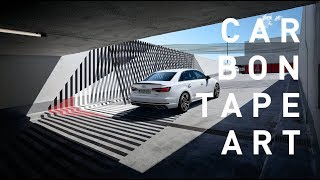 Carbon Tape Art | Audi | by Tape That
