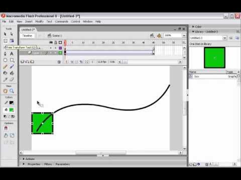 flash animation lesson 2 motion path youtube rh youtube com motion guide in flash cs3 motion guide in flash cc