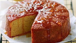 Orange Syrup Cake - Recipe