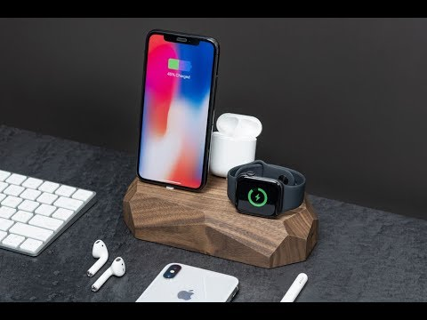 3 in 1 Charger for iPhone, Apple Watch & AirPods