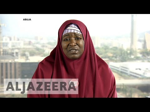 Chibok girls: 'As long as they're in captivity, we all are in captivity'