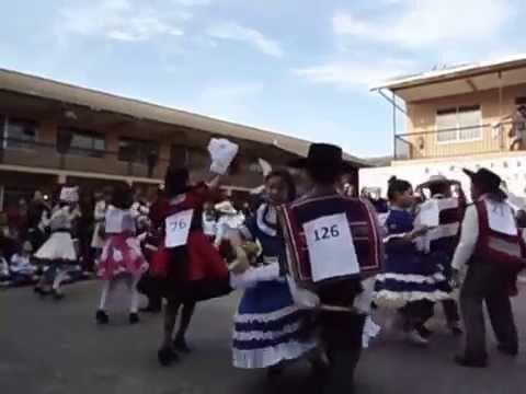 Campeonato de cueca San Fernando College San Fernando 2014