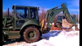 USMC Heavy Equipment Operators Course Backhoe Training MOS 1345