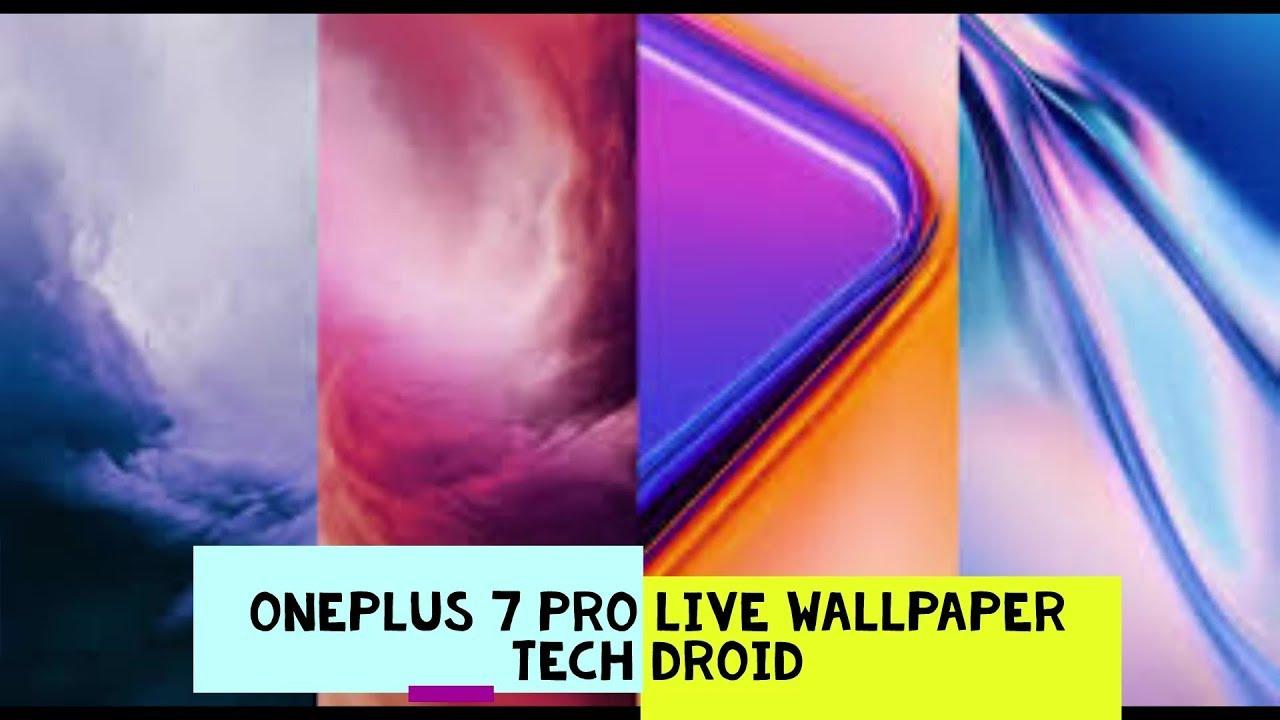 Como Instalar OnePlus 7 Pro Live Wallpaper e Papel de ...