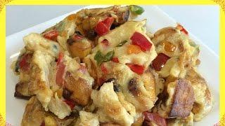 How to Make Fried Plantain-Egg | Fried plantain & Fried Egg Recipe