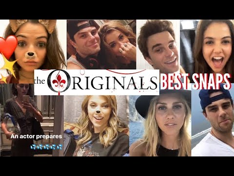 The Originals SNAPS ft  NATHANIEL BUZOLIC, RILEY VOELKEL, DANIELLE CAMPBELL & More!