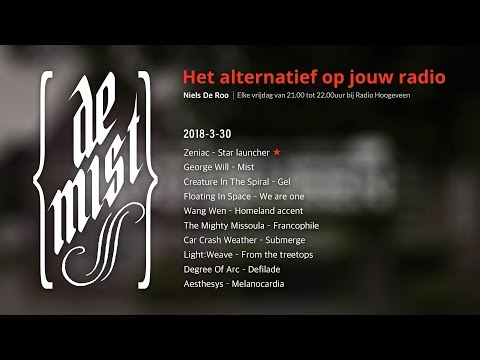 Zeniac's song on a Dutch radio show! De Mist (March 30th, 2018) [Full Show]