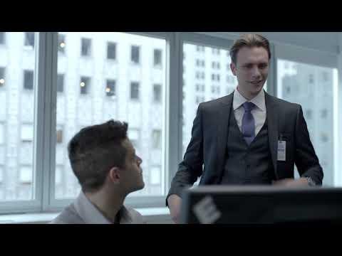 Эллиот знакомится с Тайрелом (Мистер Робот)