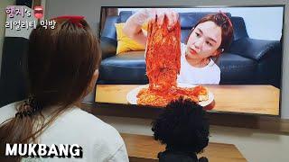 리얼먹방:) 김치의 세계 🎞 ★ 보조출연 (스팸, 계란후라이)ㅣKimchiㅣREAL SOUNDㅣASMR MUKBANGㅣEATING SHOWㅣ