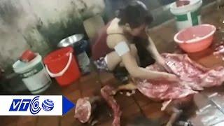 Sốc: 'Phù phép' lợn bệnh thành thịt lợn Mán | VTC