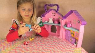 Обзор игрушки Мини Маус,примерка платьев.Клуб Микки Мауса.