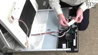 Repair GE Dishwasher – Replace the Door Latch Spring| Fix.com