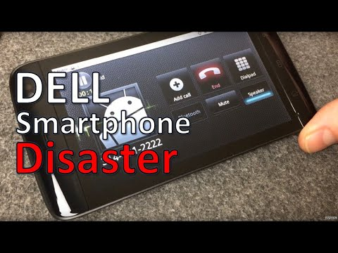 Vintage Dell 2010 Streak 5 Mega-Size Android Phone