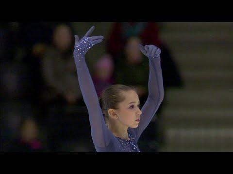 Камила Валиева. Короткая программа. Девушки. Чемпионат мира по фигурному катанию среди юниоров 2020
