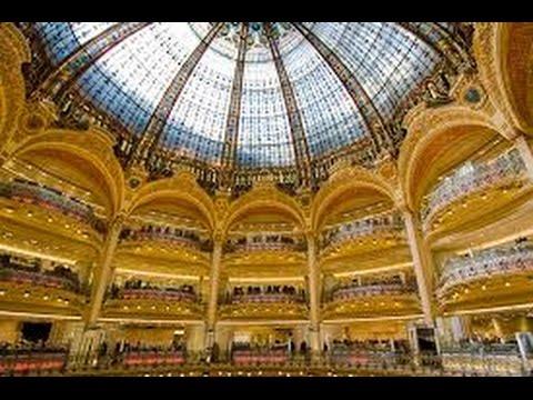 Paris - Galeries Lafayette - Le Gallerie Lafayette di Parigi