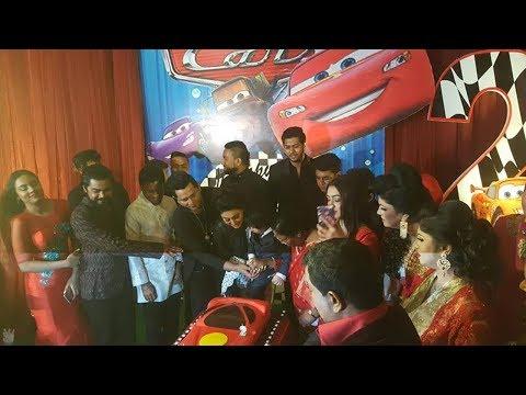 বিশাল আয়োজনে ছেলের দ্বিতীয় জন্মদিন পালন করলো অপু বিশ্বাস | Abram Khan Joy Birthday Celebration 2018